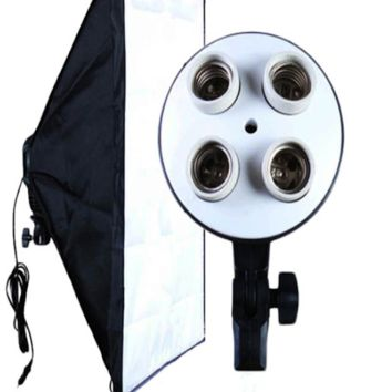 Portable Studio Softbox With 4 light Fixture - SC20X28