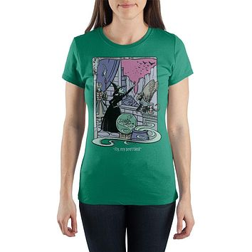 Wicked Witch of the West Wizard of Oz Shirt
