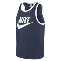 Nike Unwashed Logo Men's Tank Top - Midnight Navy