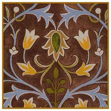 William Morris Little Flower Detail # 2 Design Counted Cross Stitch or Counted Needlepoint Pattern