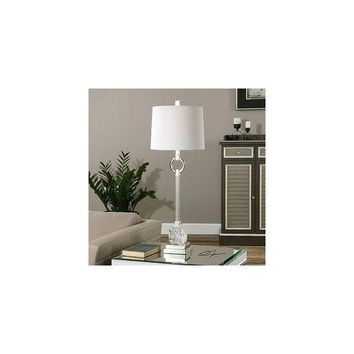 DCCKX8J Uttermost Bordolano 33.5  H Buffet Table Lamp with Round Shade