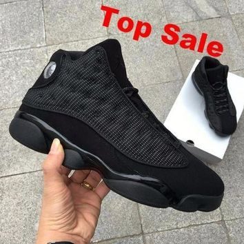 "NIKE AIR JORDAN 13 ""Black Cat"""
