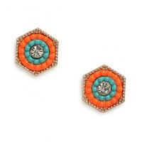 Orange Notre Studs - Earrings - All Jewelry