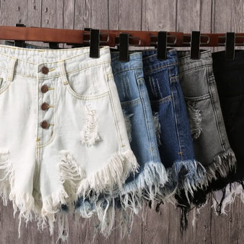 Distress Me Baby, Super Cute Shorts, All Sizes