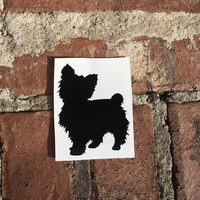 Yorkie Decal | Car Decal | Yeti Cup Decal | Laptop Decal