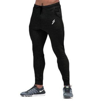 Mens Gyms Fitness Pant Male Bodybuilding Workout Fashion Casual Trousers Pants for men Crossfit Gyms Sweatpants Brand Clothing