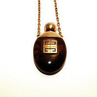 1977 Vintage Givenchy Perfume Necklace