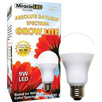150 Watt - Miracle LED Absolute Daylight MAX Flowering Red LED Grow Lite - For Intense Flowering and Fruiting of your Indoor Plants and DIY Horticulture & Hydroponic Gardens (605182)