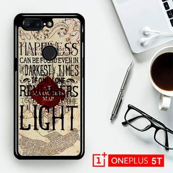 Harry Potter Marauders Map Happines L1431  OnePLus 5T / One Plus 5T Case