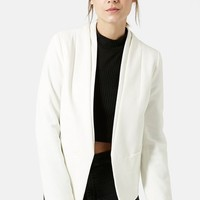 Women's Topshop 'Poppy' Double Collar Blazer