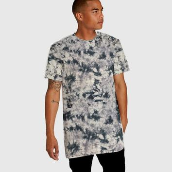 Skateboard Skater t-Shirt Men's T-shirt Hip Hop Cotton Tie Dye T-Shirts O-Neck Print Short Man's T-shirt  tshirt High Street Summer Top AT_45_3
