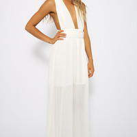 Nellie Dress - White