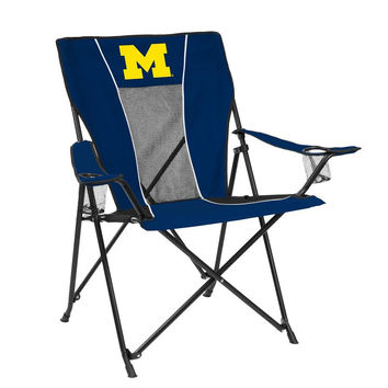 Michigan Wolverines Chair - Game Time