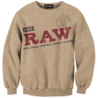Raw Paper Blunts Crewneck