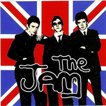 The Jam Vinyl Sticker British Flag Logo