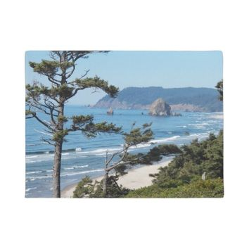 Oregon Seascape Photo Doormat
