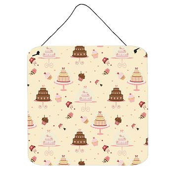 Cakes and Cupcakes Wall or Door Hanging Prints BB7310DS66