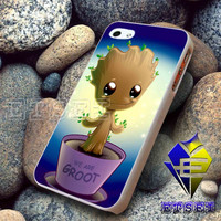 Baby groot cute  -  iPhone 6, iPhone 6+, samsung note 4, samsung note 3,iPhone 5C Case, iPhone 5/5S Case, iPhone 4/4S Case, Durable Hard Case