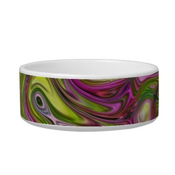 Swirls Pet Bowl