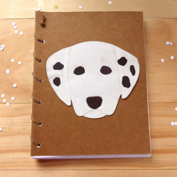 Dalmatian Notebook | Dog Spiral Notebook Journal