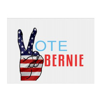 Vote Bernie Lawn Sign