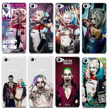 Margot Robbie Harley Quinn Suicide Squad DC Comics Transparent Case For Lenovo S850 A2010 A2020 A1000 S90 S60 K3 Phone Cover