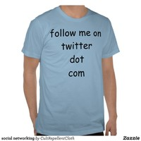social networking t shirt