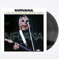 Nirvana: Live in Buenos Aires 1992 Vinyl - Urban Outfitters