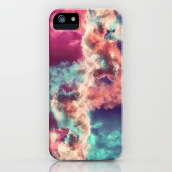 Yin Yang Painted Clouds iPhone & iPod Case by Caleb Troy