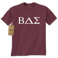 BAE Greek Lettering Fraternity Sorority Mens T-shirt
