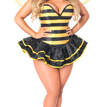 Plus Size Deluxe Queen Bee Corset Costume