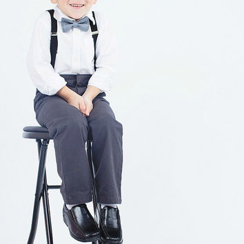 Gray Ring Bearer Outfit  ==  Grey Ring Bearer Outfit  ==  Gray / Grey Ringbearer Outfits