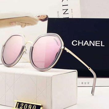 PEAPJ1A Chanel true color coated double color stitching designer polarized sunglasses F-A-SDYJ 2