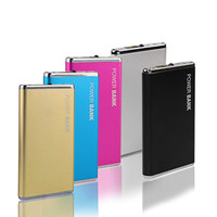 DOSHIN New Power Bank 5600mAh Portable Metal Case Li-Polymer External Battery Charger Powerbank For All Phone