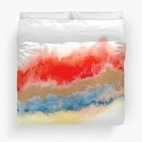 'Minimal Expressions 02' Duvet Cover by Marco Gonzalez