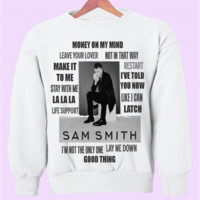 "Sam Smith ""The Lonely Hour"" Album Crewneck"