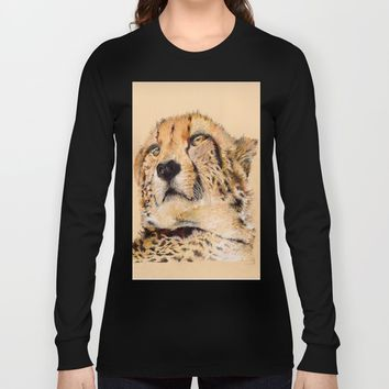 Season of the Cheetah Long Sleeve T-shirt by michael jon