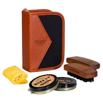 Gentlemen's Hardware Shoes Shine Care Kit