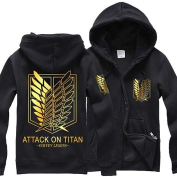 Men's Hoodies Attack on Titan Jacket