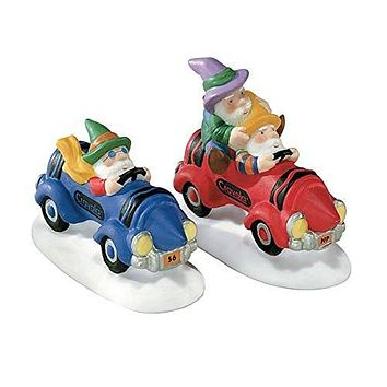 Department 56 North Pole Series Crusin Crayola Elves