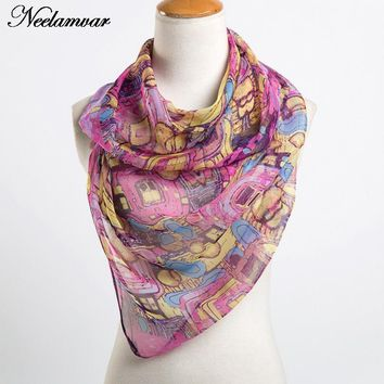 women's fashion scarves wholesale popular paisley pattern print shawl and scarves for women hijabs Spring and Autumn