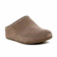 FitFlop Brown Clog Mules