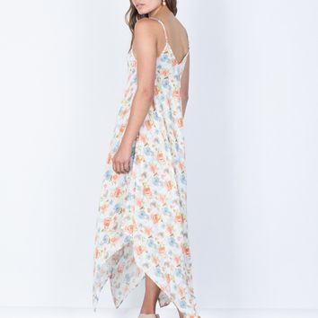Full Bloom Midi Dress