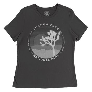 Joshua Tree Layers Dark Women's Tee