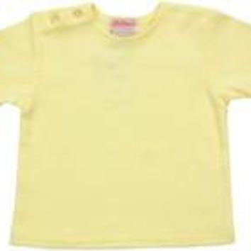Yellow Short Sleeve Tee Shirt