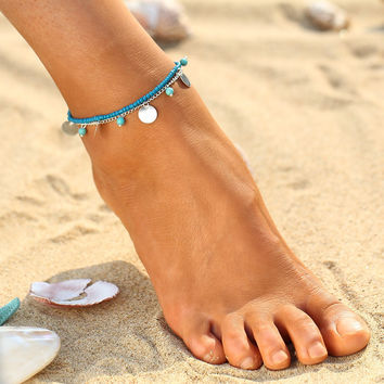 Beaded Ankle Bracelet