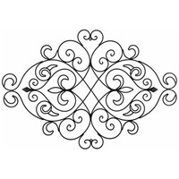 Black Metal Swirl & Diamond Wall Decor | Shop Hobby Lobby