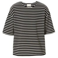 Indie Designs Fear of God Inspired Striped Crew Jersey Tee