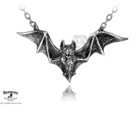 Om Strygia Bat Necklace :: VampireFreaks Store :: Gothic Clothing, Cyber-goth, punk, metal, alternative, rave, freak fashions