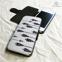 Aztec Arrows iPhone Wallet